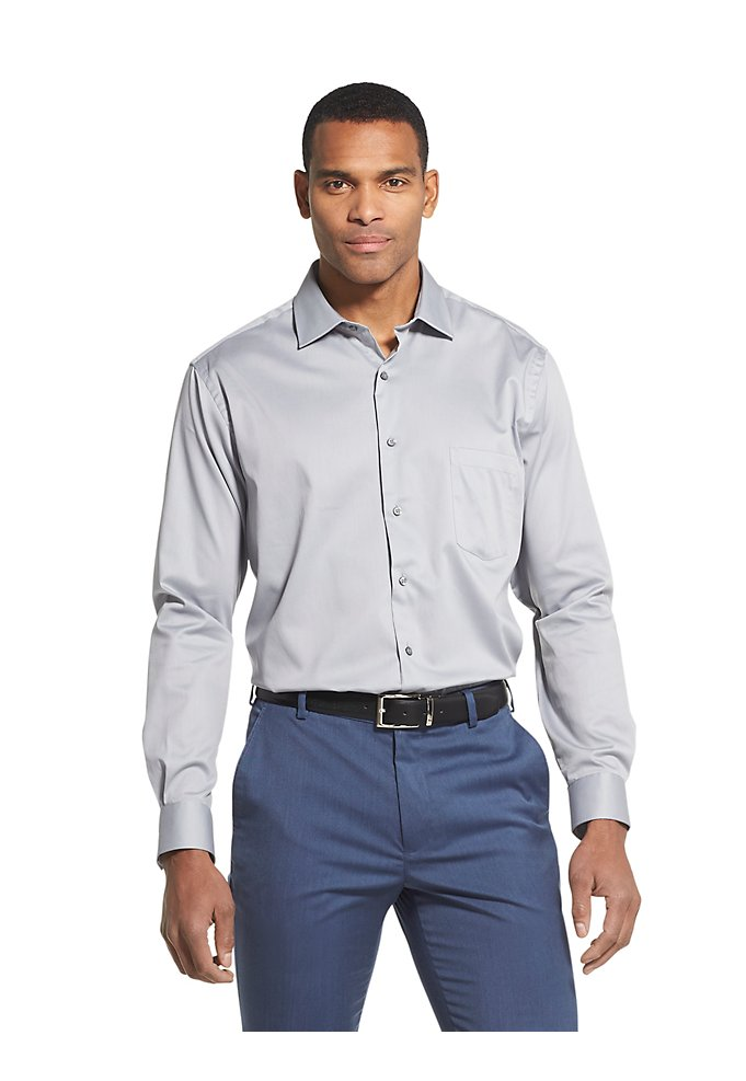 5171ced63b Regular Wrinkle-Free Stretch Flex Dress Shirt