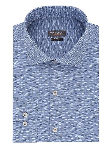 62a16affbe92 Slim Traveler Non Iron Stretch Printed Dress Shirt