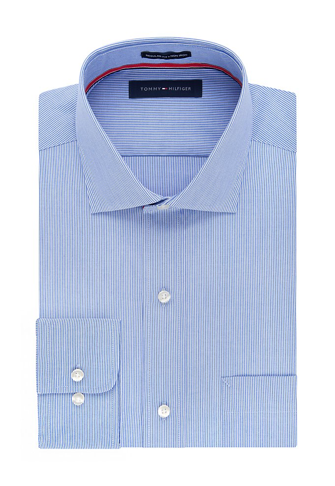 4996b6653 Regular Non Iron Striped Dress Shirt | styleBureau