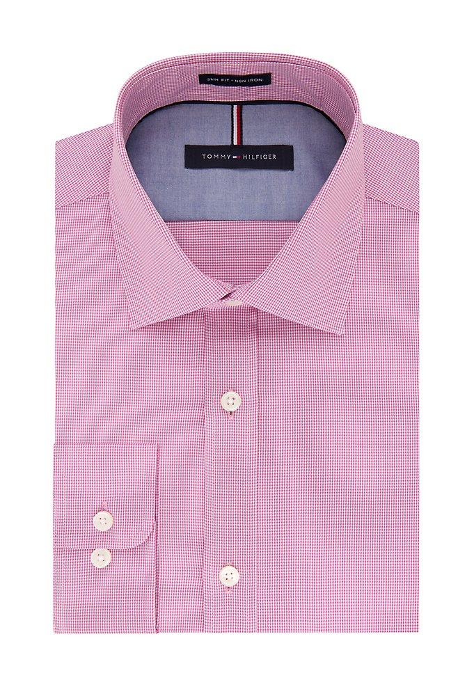 5b30f9b34d12f Slim Non Iron Check Dress Shirt