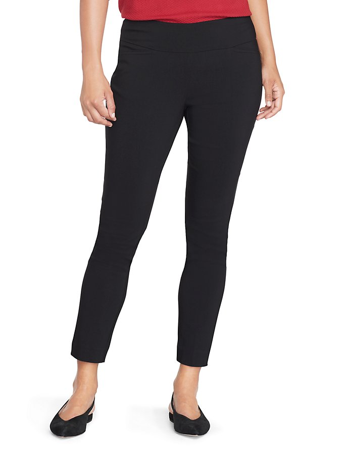 Van Heusen Women's Petite Slim Fit Super Stretch Pull-On Pants
