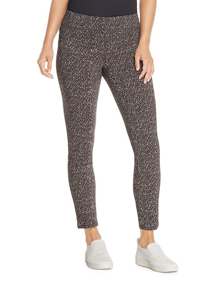 Van Heusen Slim Fit Super Stretch Printed Pull-On Ankle Women's Pants