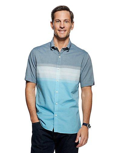 a90d5b00 Never Tuck Slim Fit Colorblock Short Sleeve Shirt