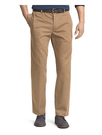 American Flat Front Chino Pant In Classic Fit Izod