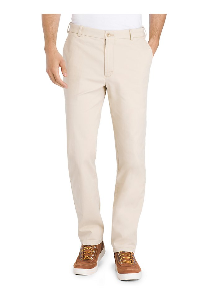 789958838f5ddf Straight Fit Saltwater Stretch Flat-Front Chino Pant | IZOD