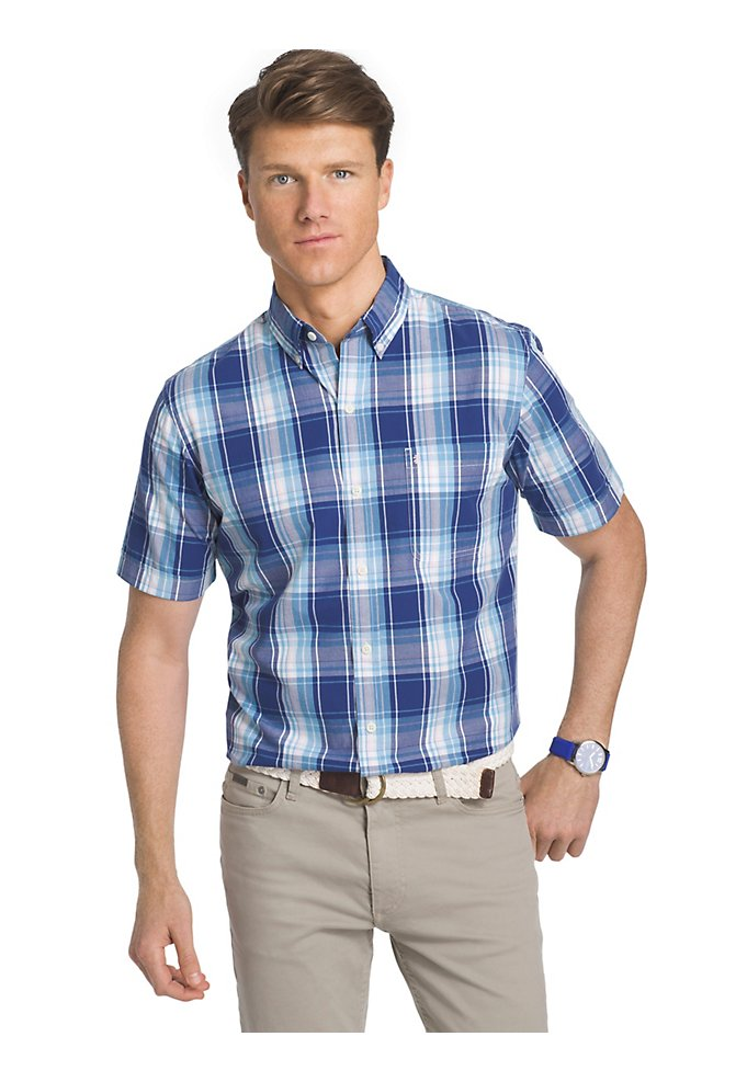 981f45a0def Saltwater Short-Sleeve Button-Down Shirt In Plaid