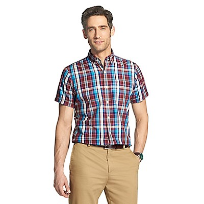 a6974a8c Breeze Short Sleeve Button Down Shirt | IZOD