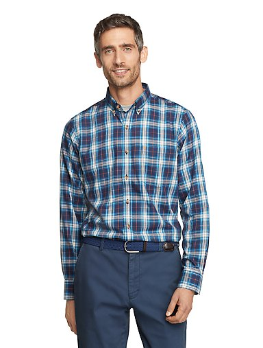 IZOD Plaid Button-Down Long Sleeve Shirt