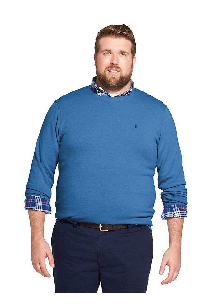 3c315730 Tall Fit Advantage Performance Stretch Fleece Sweatshirt | IZOD