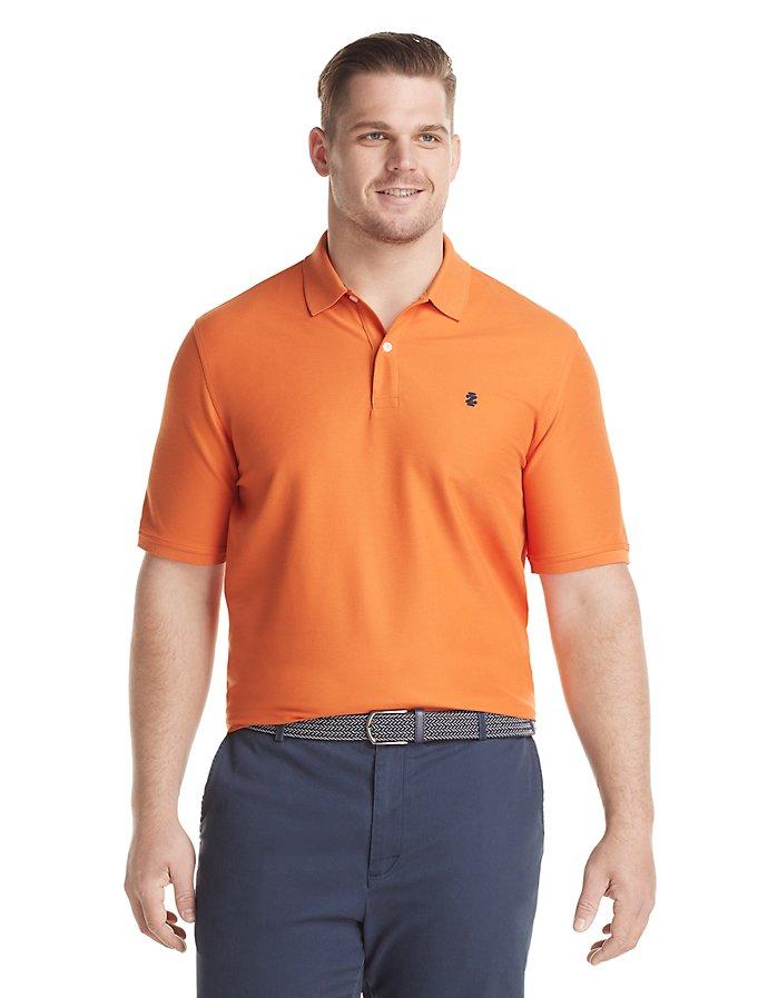 IZOD Advantage Performance Big Fit Short Sleeve Polo T-Shirt