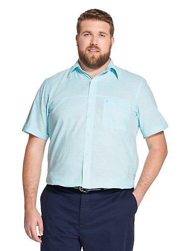 797054c23e Big Fit Saltwater Dockside Chambray Short-Sleeve Shirt