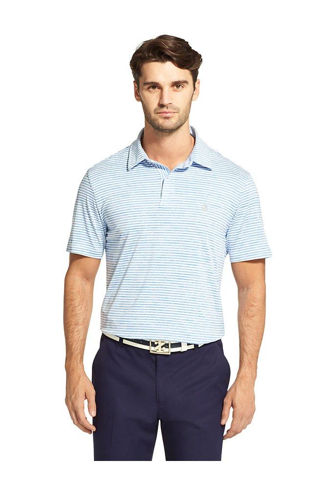 7a48f25911 Golf Striped Polo Shirt | IZOD