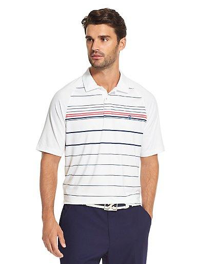 Golf Striped Polo Shirt