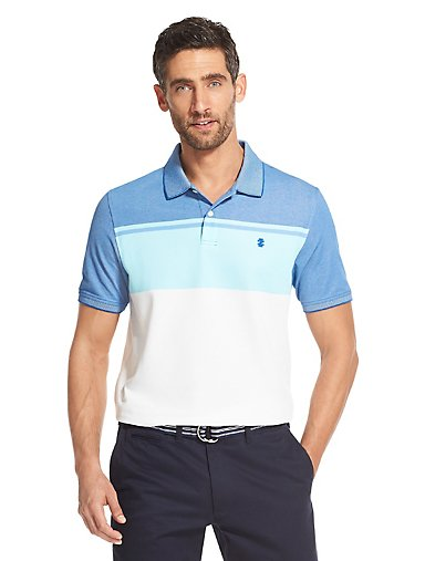 2289b7c7730e6 Advantage Performance Colorblock Polo Shirt