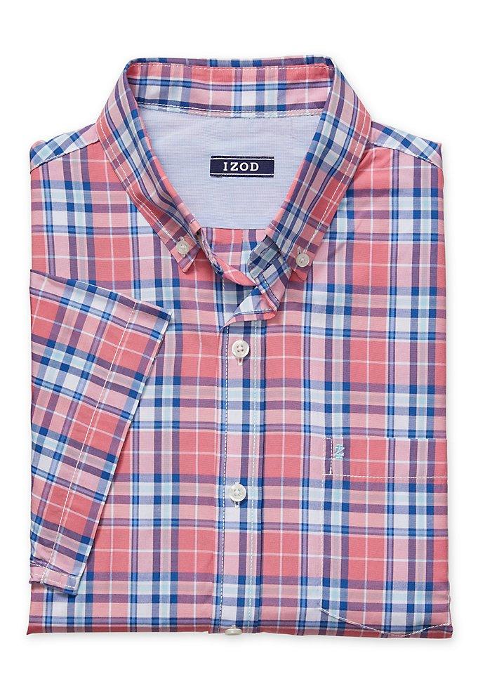 509f40c816a Breeze Plaid Short-Sleeve Button-Down Shirt
