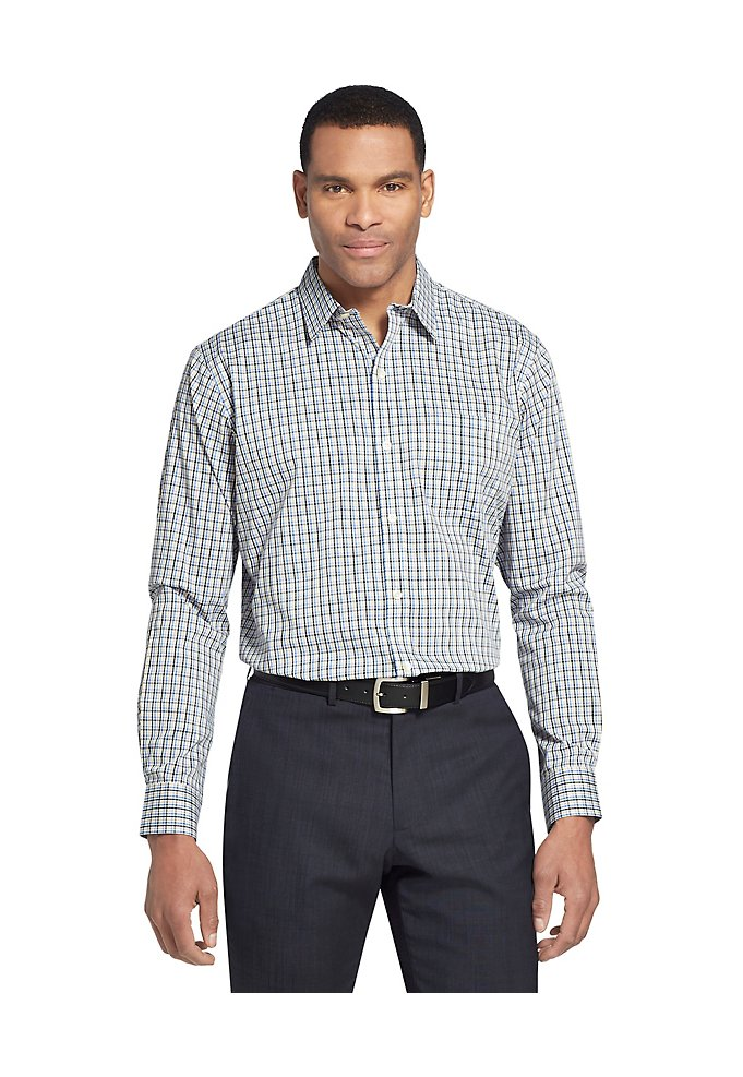 e511b9fc0802c Sale Traveler Stretch Non-Iron Check Shirt