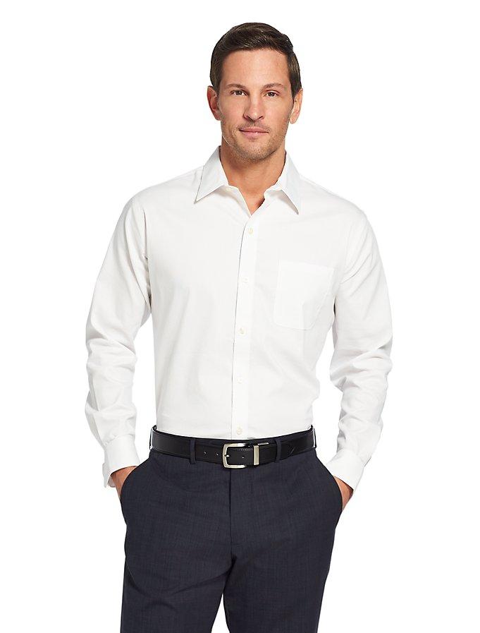 IZOD Van Heusen Traveler Stretch Bedford Non-Iron Shirt