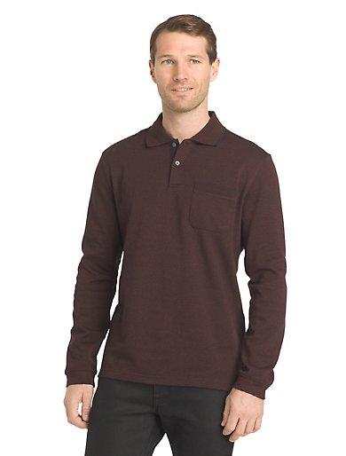 Flex Long-Sleeve Polo Shirt
