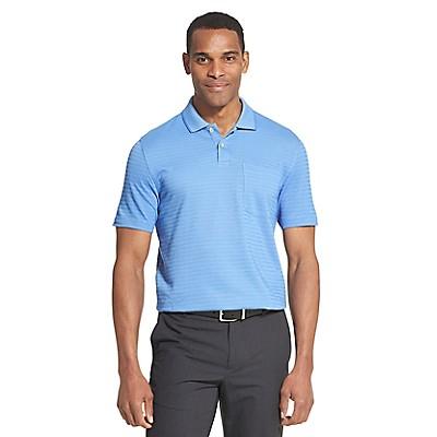 c543bfea3 Flex Striped Short Sleeve Polo Shirt | Van Heusen