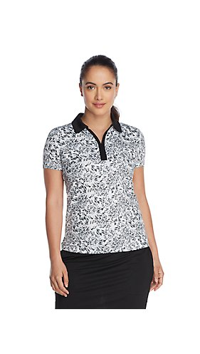 IZOD Golf Floral Women's Polo T-Shirt