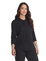 2-Pack Izod Waffle Knit Women's Hooded Pull-Over
