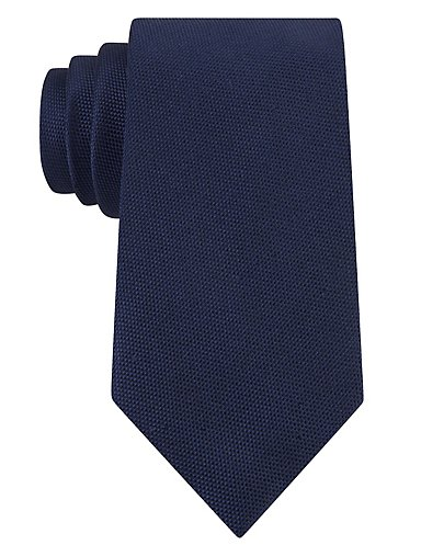15d7657a3d72 Solid Oxford Weave Tie