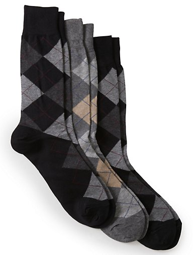 e2f18174b9d Argyle Dress Socks 3-Pack